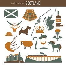 Scotland Travel Collection. Ve...