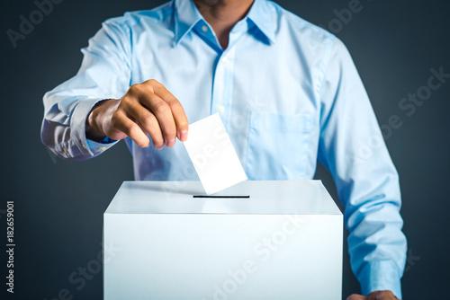 Fotografie, Obraz  投票,選挙イメージ