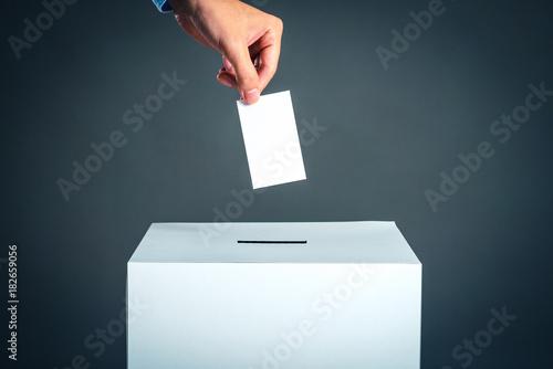 Obraz na plátně  投票,選挙イメージ