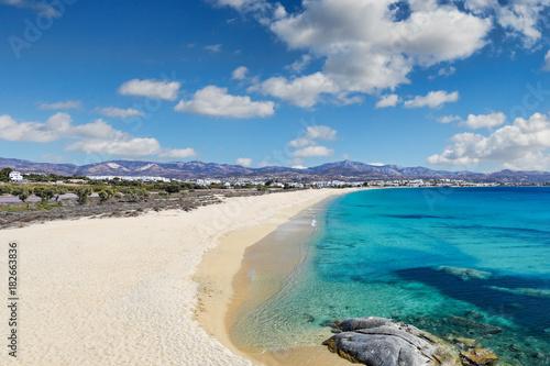 фотография Agios Prokopios beach in Naxos island, Greece