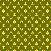 Seamless Geometric Snowflake P...