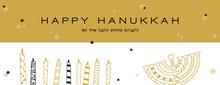 Hanukkah Greeting Banner , Jew...