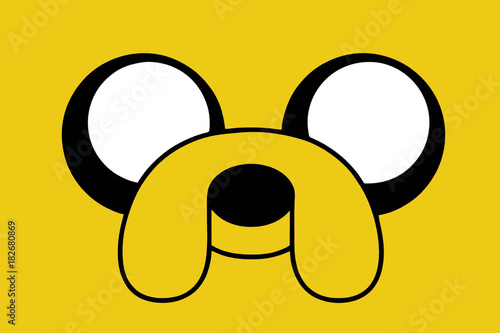 фотография Cartoon dog Jake