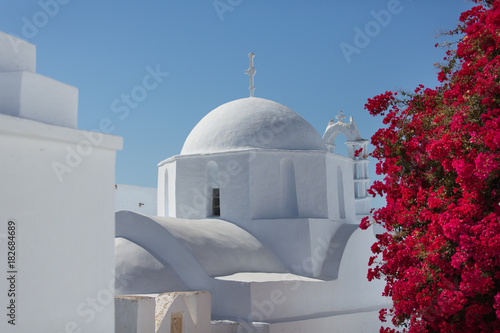Amorgos - Chora - Church Canvas Print
