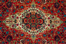 Oriental Carpet Pattern Close