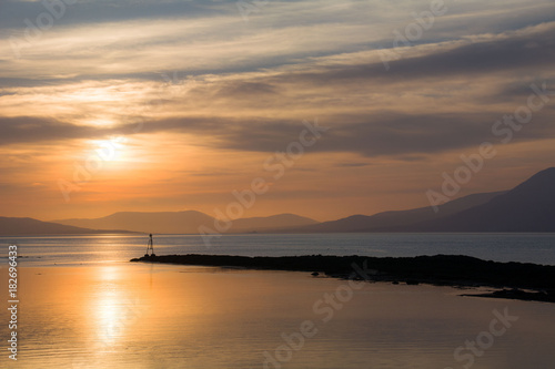 Sunset on Bantry Bay, the Wild Atlantic Way, Ireland Canvas Print