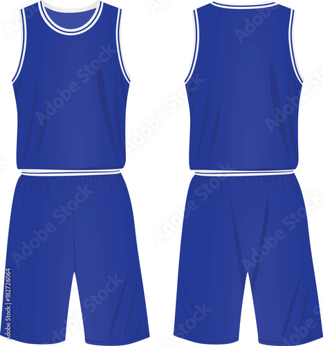 46af089d3eb4 Basketball uniform. vector illustration - Buy this stock vector and ...