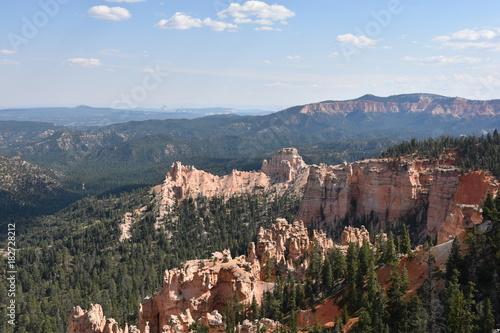 Fotobehang Natuur Park Fairview Point at Bryce Canyon National Park in Utah
