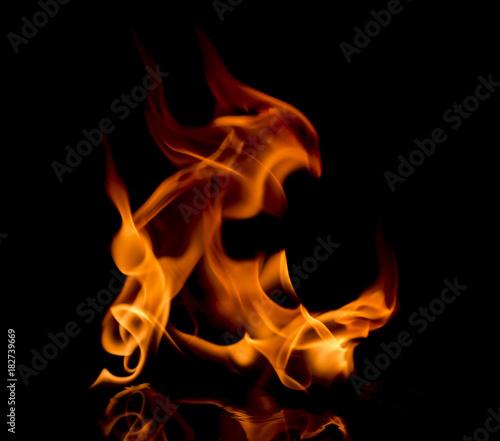 In de dag Vuur / Vlam fire flames background
