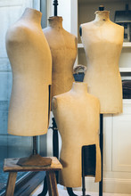 Vintage Tailor Mannequin / Bust / Dummy /dressmaker In Different Sizes. Essential Clothes Tailoring Studio Equipment.