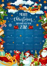 Christmas Holiday Calendar Of ...