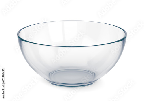Foto Empty glass bowl