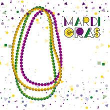 Mardi Gras Colorful Background...