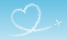 I LOVE YOU – Flugzeug Fliegt...