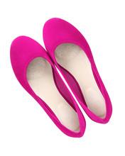 Hot Pink Fuchsia Suede Comfort...