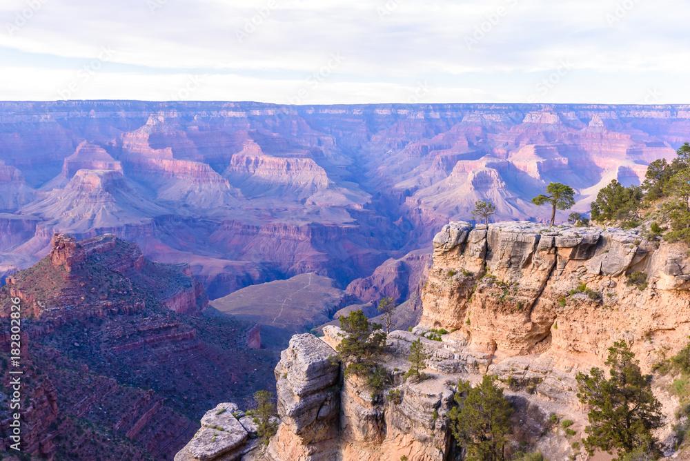 View Point Maricopa Point at Grand Canyon National Park, Arizona, USA