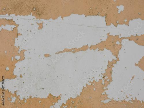 Fotografie, Obraz  剥がれたペンキ 古い壁