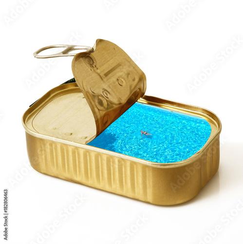 Photo la piscina in scatola