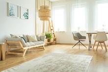 Spacious Bright Living Room