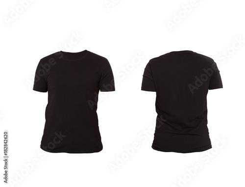 T shirt template front and back view mock up isolated on white t shirt template front and back view mock up isolated on white background maxwellsz