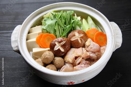 Fotografie, Obraz  Japanese hot pot CHANKO-NABE