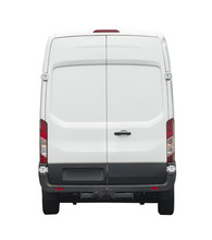Rear Of White Van For Your Bra...