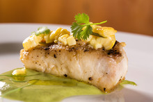 Sea ​​bass With Coriander ...