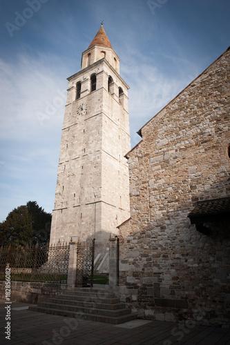 Photo Aquileia, campanile della Basilica di Santa maria Assunta