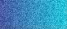 Blue Gradient Background With Low Poly Triangle Pattern. Shiny Crystal Geometric Faceted Texture. Vector Graphic For Web, Mobile Interfaces Or Print Design. Horizontal Layout.