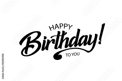 Fotografia, Obraz  Happy Birthday card