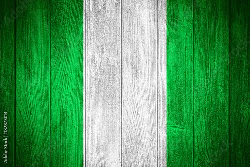 Foto op Plexiglas Groene Nigeria flag