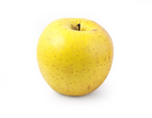 Yellow Apple Isolated