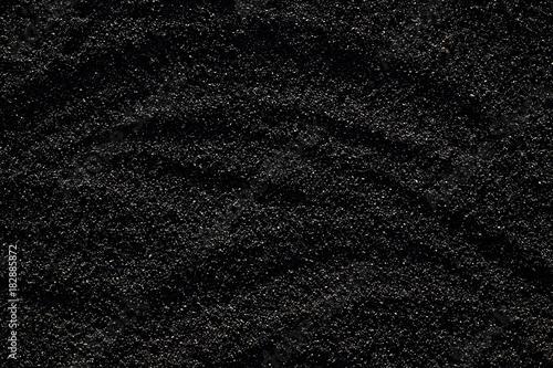 Fotografía  Black rubber texture for background.