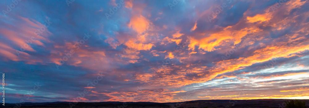Fototapety, obrazy: Amazingly beautiful Sunset