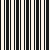 Vertical stripes seamless pattern. Simple vector lines, thin and thick bands - 182894489