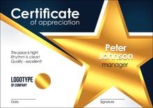 Certificate Of Appreciation Go...