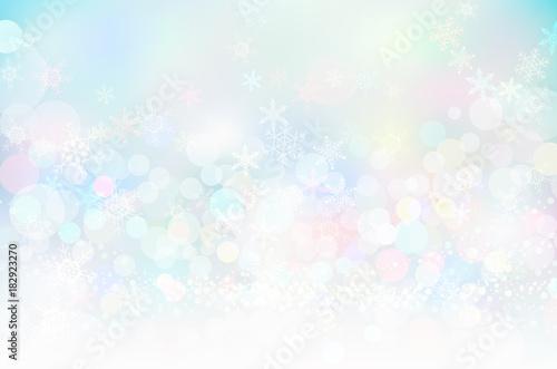 Obraz ホワイトスノークリスマス背景テクスチャ - fototapety do salonu