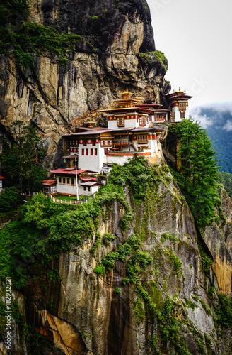 Paro Taktsang (Tiger Nest) in Bhutan Wallpaper Mural