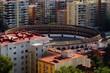 Plaza de Toros - Blick auf die Stierkampfarena von Málaga
