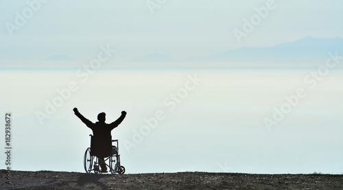Özgür İnsanın Zirve Başarısı Fototapet