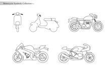 Motorcycle Symbolic Collection V.1
