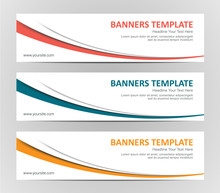 Abstract Web Banner Design Bac...