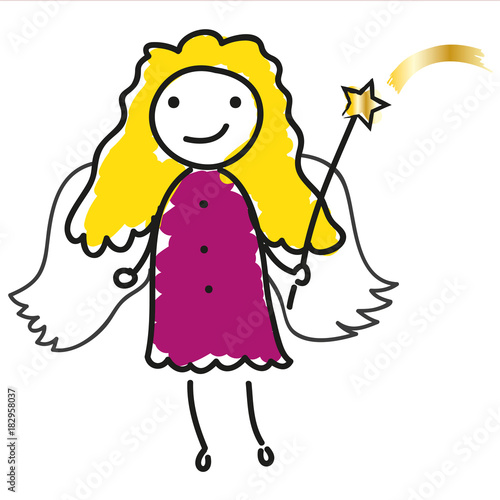 Christkind Bilder Weihnachten.Frohe Weihnachten Christkind Süßer Engel Mit Goldenen Haaren Und