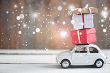 Toy Car With Gifts