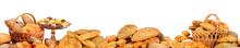 Panorama Of Fresh Bread Produc...