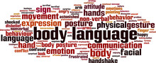 Body Language Word Cloud