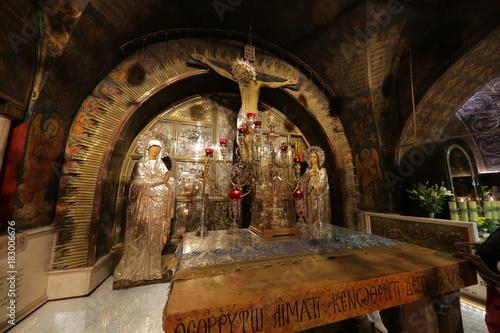 Fotografia Calvario o Gólgota, Iglesia del Santo Sepulcro, Jerusalén, Israel