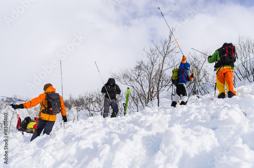 Foto Avalanche training