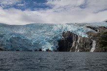 Blackstone Glacier, Blue Ice, ...