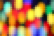 Bright background with colorful mosaic pattern